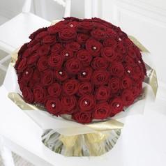 100 rozen laten bezorgen