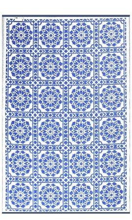 Wonder Rugs Blauw buitenkleed