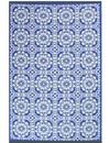 Blauw buitenkleed tegeltjes