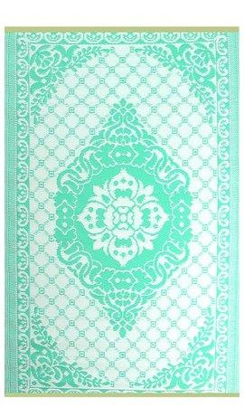 Turquoise terraskleed