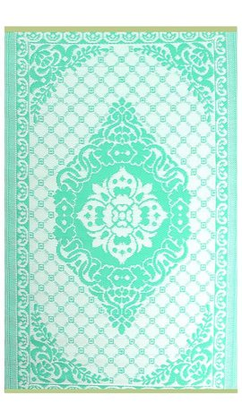 Wonder Rugs Turquoise terraskleed