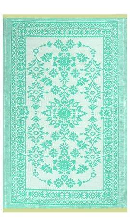 Turquoise ibiza stijl buitenkleed