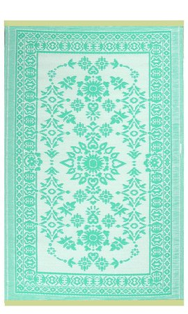 Wonder Rugs Turquoise ibiza stijl buitenkleed