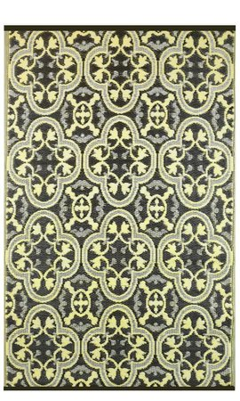 Wonder Rugs Buitenkleed geel