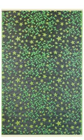 Wonder Rugs Groen blaadjes buitenkleed