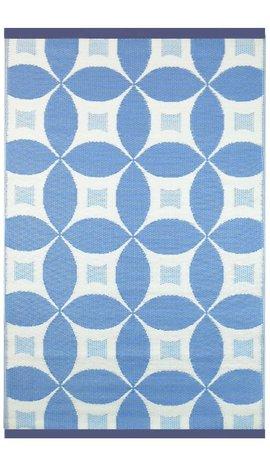 Wonder Rugs Blauw vloerkleed voor buiten