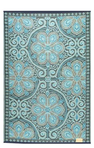 Wonder Rugs Buitenkleed blauw