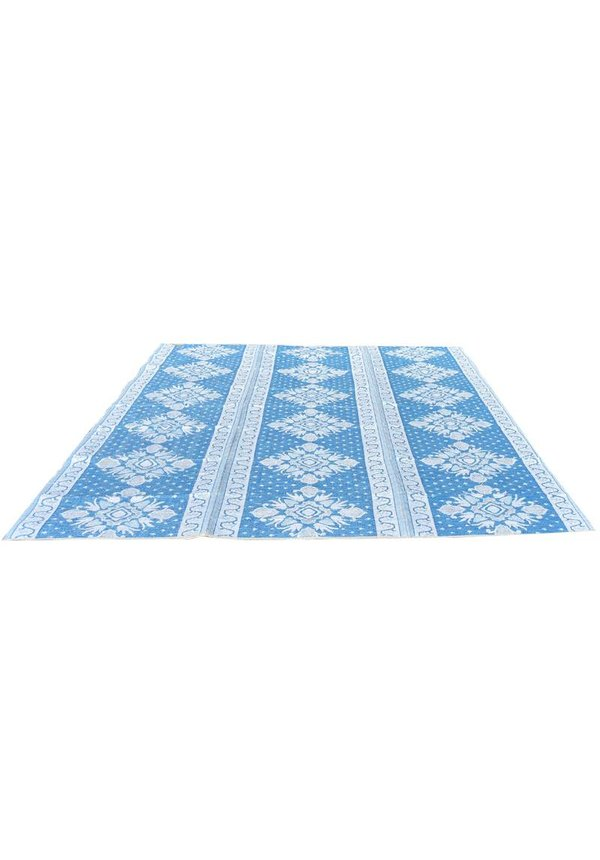 Rajasthan groot blauw tuinkleed