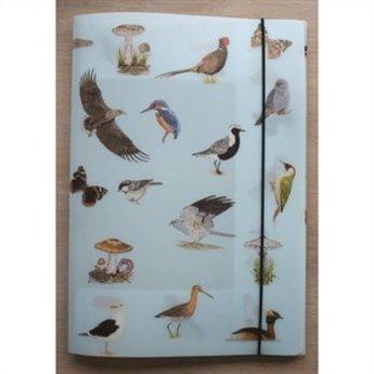 Tringa paintings natuurkaarten 36 herkenningskaarten in opbergmap - natuur en buitenleven