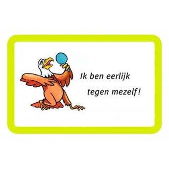 Dubbelzes Eigenwijsjes, een coachkaartje voor kinderen en volwassenen
