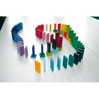 Grimms houten speelgoed Domino, voor rally en om mee te bouwen