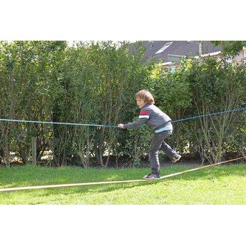 Kids at work kindergereedschap Slackline: balanceren voor kinderen en volwassenen -