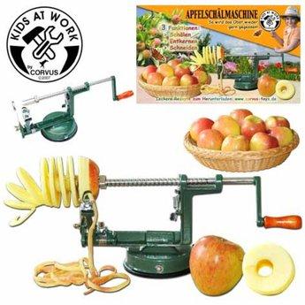 Kids at work kindergereedschap Appelschilmachine - zelf je appeltje schillen is 10 x lekkerder!