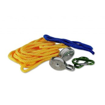 Kids at work Takel met katrol en 5 meter touw om alles omhoog te takelen wat je wilt!