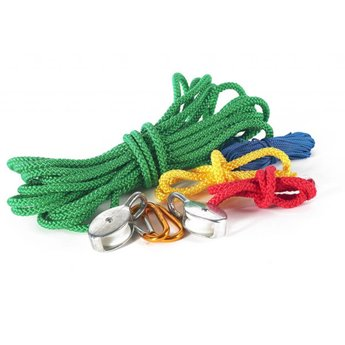 Kids at work Multi kabel - overhevelen met touw