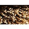 Bouwen met bamboe - 500 stuks bamboestokjes 30 cm
