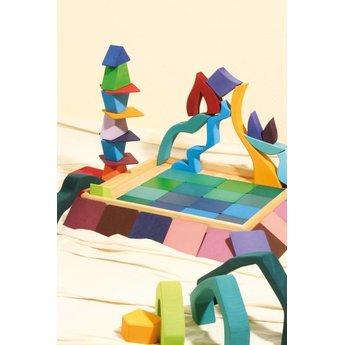 Grimms vier elementen puzzel en bouwset