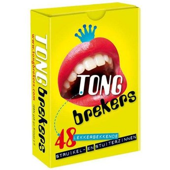 Dubbelzes Tongbrekers, een ideaal spel voor mondelinge vaardigheid