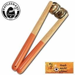 Rattlesnake muziekinstrumenten voor kinderen Schnatterstab schellenrammelaar