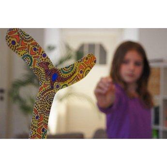 tictoys MyFibo - een boomerang voor binnen!