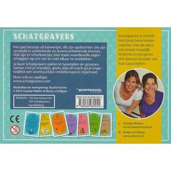 Schatgravers Schatgravers een avontuurlijk kaartspel dat verbindt, inspireert en raakt!