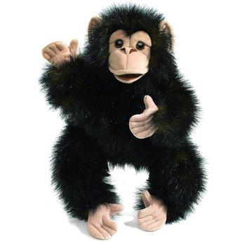 Folkmanis handpoppen en poppenkastpoppen Handpop baby Chimpansee