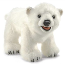 Folkmanis Handpop ijsbeer