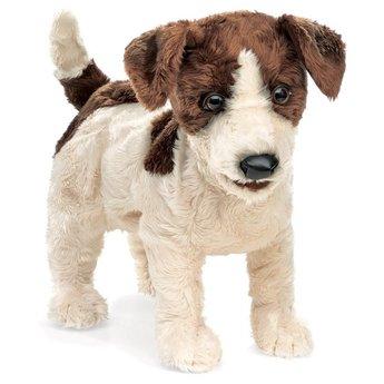 Folkmanis Realistische Jack Russel - handpop hond