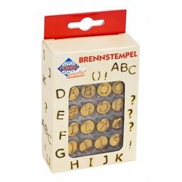 Pebaro letterstempels ABC voor houtbrandpen