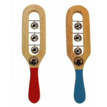 Rattlesnake muziekinstrumenten voor kinderen Bellen rammelaar van hout voor muzikale begeleiding
