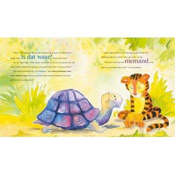 Uitgeverij Koppenhol Tijger Tijger is het waar? Een kinder voorleesboek over de kracht van gedachten.