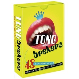Dubbelzes educatieve spellen Tongbrekers