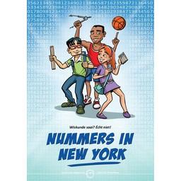 Stephan Timmers stripboeken Wiskunde stripboek Nummers in New York