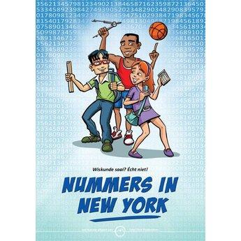 Stephan Timmers Wiskunde stripboek Nummers in New York