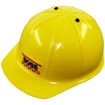 Kids at work Stoere gele helm voor kinderen