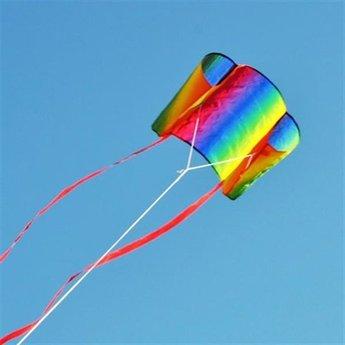 HQ vliegspeelgoed Ready Sleddy Go Rainbow - Handzame trekvlieger