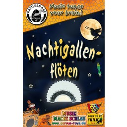 Rattlesnake muziekinstrumenten voor kinderen Nagtegaalfluitje