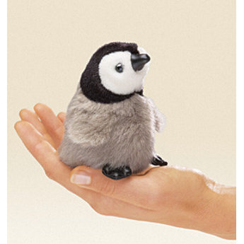 Folkmanis Realistisch vingerpopje baby keizerspinguin