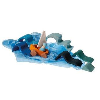 Grimms Houten bouwblokken water