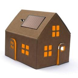 Litogami zonne-energie bouwpakketten Casagami original - huisje kraft