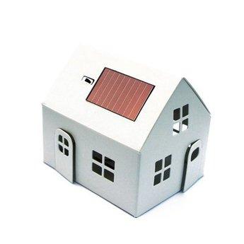 Litogami Casagami imagine me - huisje wit om te schilderen en in te kleuren
