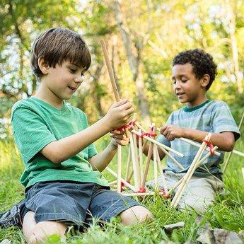 Stick-lets constructiemateriaal voor binnen en buiten Stick-lets Neigborhood Playdate Kit 36 pieces