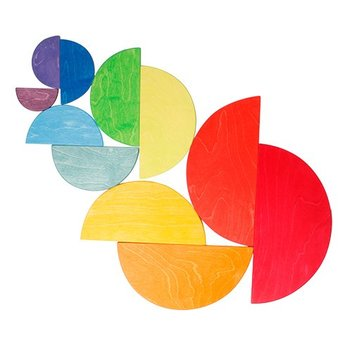 Grimms Grote halve cirkels regenboog