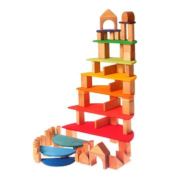 Grimms Grote halve cirkels regenboog, voor het maken van een poppenhuis