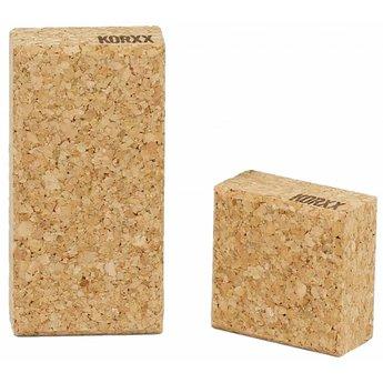 KORXX kurk blokken Zestig (60) rechthoekige bouwblokken met een viltbox