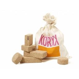 KORXX Baby - 10 kurk blokken naturel