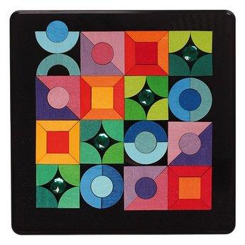 Grimms Prachtige puzzel in verschillende vormen met 'diamanten'