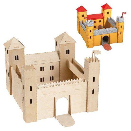 speelgoed kasteel zelf maken