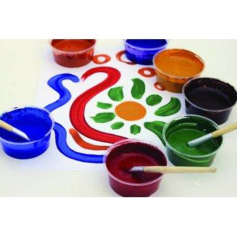 Natural Earth Paint natuurlijke kinderverf en kunstverf Children's Earth Paint - natuurlijke verf per kleur