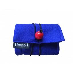 Seccorell Seccorell blauw vilten etui met basisset